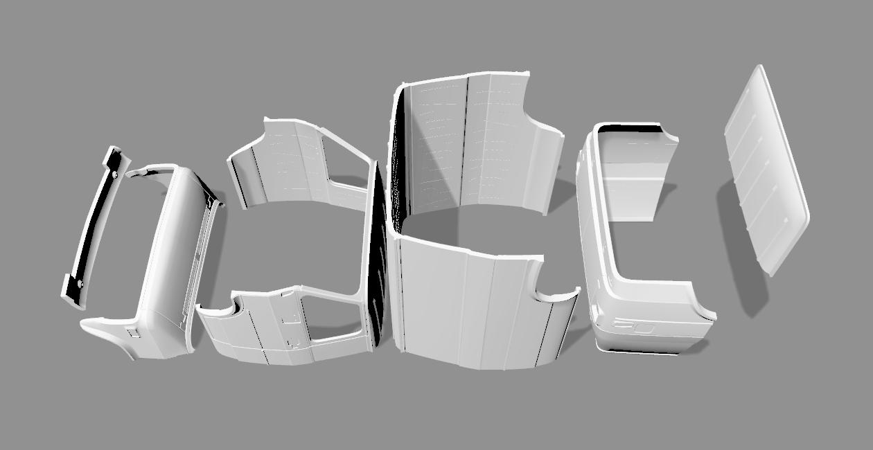 2020-04-06_12-03-51.png Descargar archivo STL CHEVY VAN G20 RC BODY SCALER AXIAL MST TRX4 RC4WD • Modelo para imprimir en 3D, ilyakapitonov