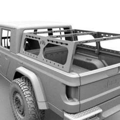 1111.jpg Télécharger fichier STL gratuit Rack Jeep Gladiator RC Body Car 3d printed • Modèle imprimable en 3D, ilyakapitonov