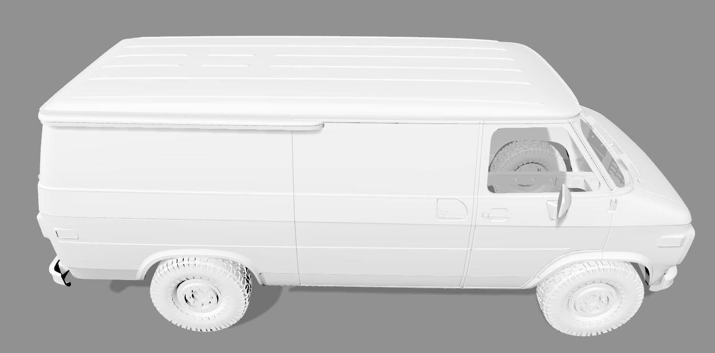 2020-04-05_18-56-12.png Descargar archivo STL CHEVY VAN G20 RC BODY SCALER AXIAL MST TRX4 RC4WD • Modelo para imprimir en 3D, ilyakapitonov