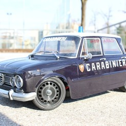 IMG_9624.JPG Descargar archivo STL gratis Ruedas Alfa Romeo Giulia viejo coche de turismo Rc Steel • Modelo imprimible en 3D, ilyakapitonov