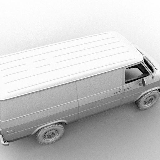 2222.jpg Descargar archivo STL CHEVY VAN G20 RC BODY SCALER AXIAL MST TRX4 RC4WD • Modelo para imprimir en 3D, ilyakapitonov