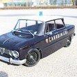 Imprimir en 3D gratis Ruedas Alfa Romeo Giulia viejo coche de turismo Rc Steel, ilyakapitonov