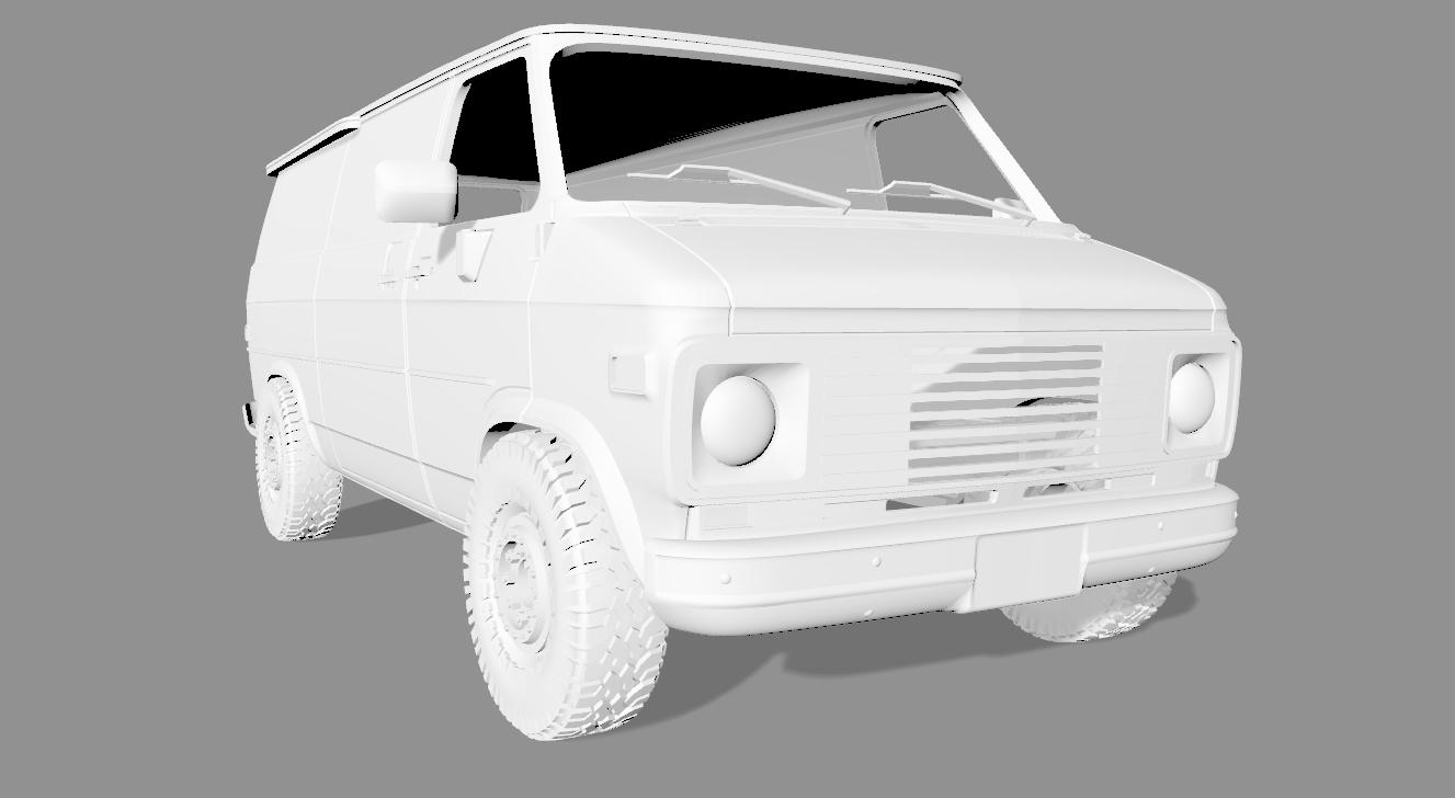 2020-04-05_18-57-42.png Descargar archivo STL CHEVY VAN G20 RC BODY SCALER AXIAL MST TRX4 RC4WD • Modelo para imprimir en 3D, ilyakapitonov