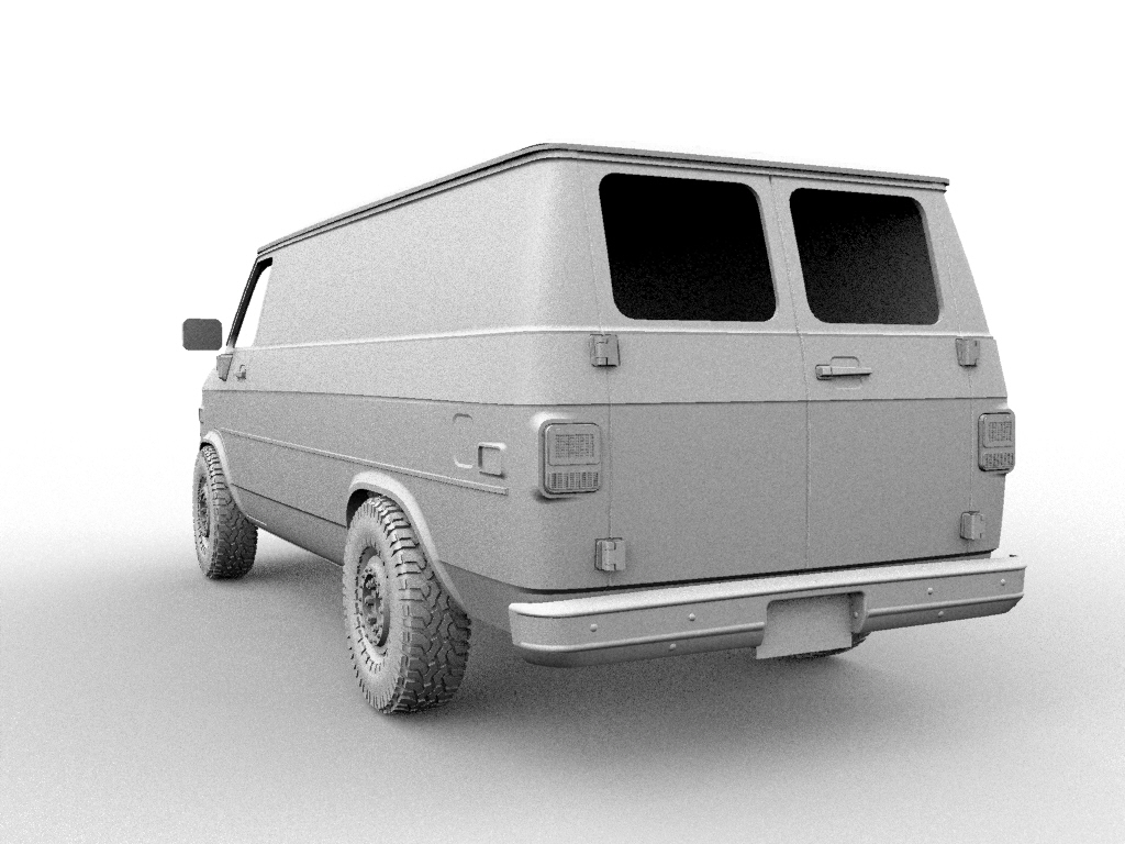 22.jpg Descargar archivo STL CHEVY VAN G20 RC BODY SCALER AXIAL MST TRX4 RC4WD • Modelo para imprimir en 3D, ilyakapitonov