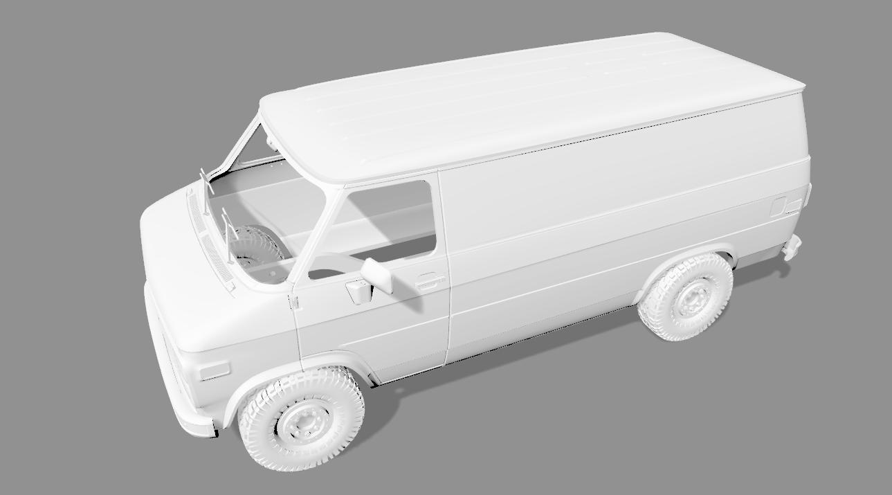 2020-04-05_18-58-04.png Descargar archivo STL CHEVY VAN G20 RC BODY SCALER AXIAL MST TRX4 RC4WD • Modelo para imprimir en 3D, ilyakapitonov