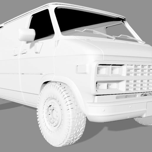2020-04-05_18-56-26.png Descargar archivo STL CHEVY VAN G20 RC BODY SCALER AXIAL MST TRX4 RC4WD • Modelo para imprimir en 3D, ilyakapitonov