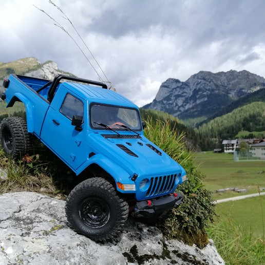 Télécharger fichier impression 3D JEEP J6 RC BODY SCALER 313MM MST TRX4 AXIAL, ilyakapitonov