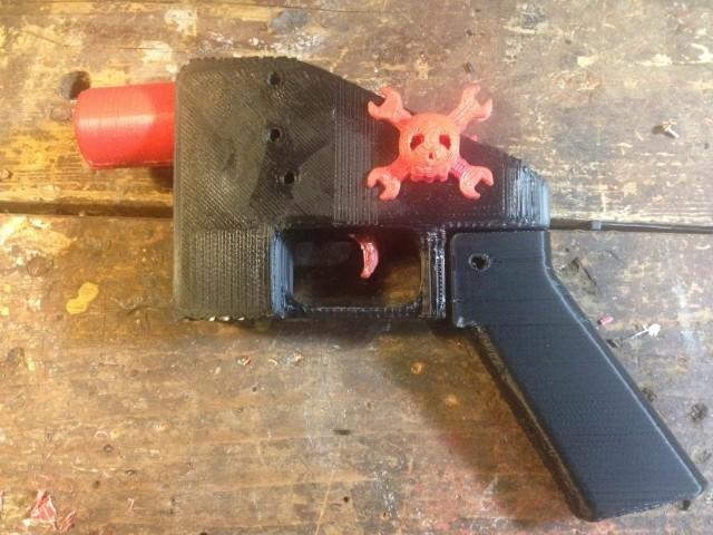 hack-a-day-full-3d-printed-gun-640x480.jpg Télécharger fichier STL gratuit pistolet fonctionnel gun • Objet pour imprimante 3D, jolafrite342