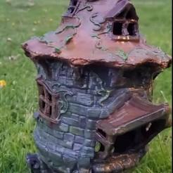 Download STL file Birdhouse -3 pieces • 3D printer design, nahanrac