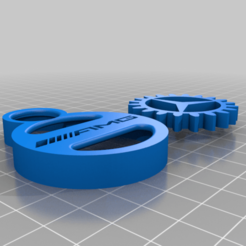 Download free 3D print files MERCEDES-BENZ AMG GEAR KEY CHAIN, GREGCAR_3DPrinting