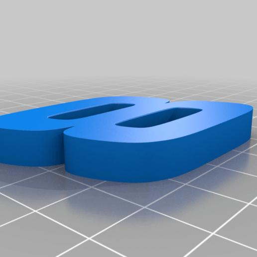 8_WHITE.png Télécharger fichier STL gratuit DALE EARNHARDT JR. #8 • Design pour impression 3D, GREGCAR_3DPrinting
