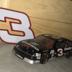 3_da.png Download free STL file DALE EARNHARDT SR. #3 • 3D printer object, GREGCAR_3DPrinting