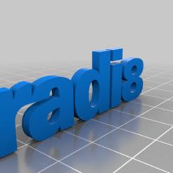 Radi8.png Download free STL file RADI8 • Model to 3D print, GREGCAR_3DPrinting