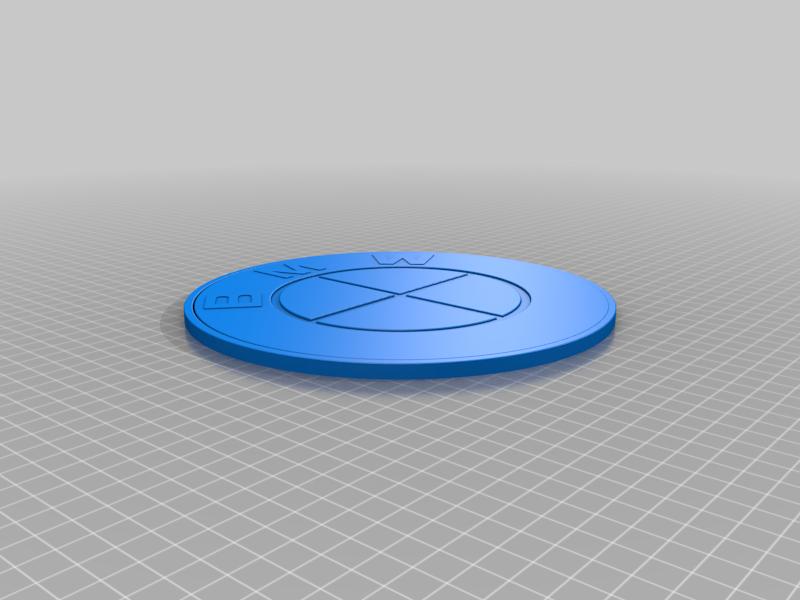 BMW_Logo.png Download STL file BMW • 3D print template, GREGCAR_3DPrinting