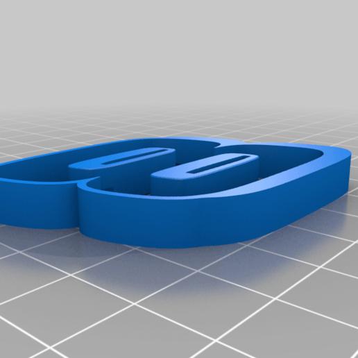 8_BLACK.png Télécharger fichier STL gratuit DALE EARNHARDT JR. #8 • Design pour impression 3D, GREGCAR_3DPrinting