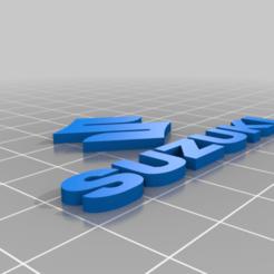 Suzuki_LOGO.png Download free STL file SUZUKI • 3D printer template, GREGCAR_3DPrinting