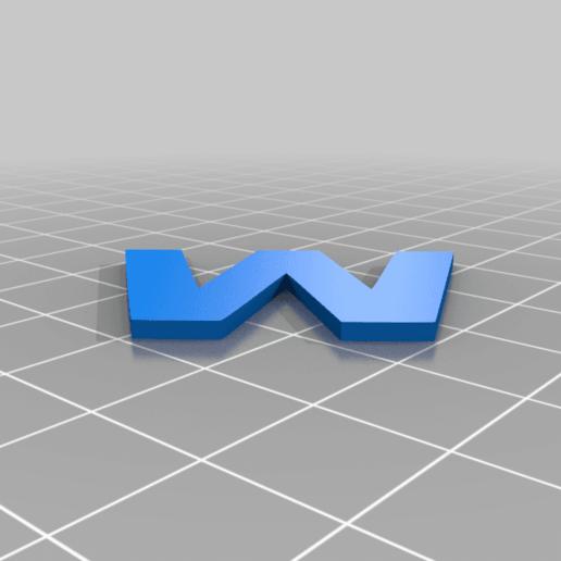 W.png Download STL file BMW • 3D print template, GREGCAR_3DPrinting