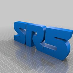 Download free STL files SR5 TOYOTA LOGO, GREGCAR_3DPrinting