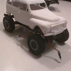83944462_198959001229532_657468547085107200_n.jpg Télécharger fichier STL Volvo Duett 24ème échelle RC Chassis • Plan à imprimer en 3D, GreyArea