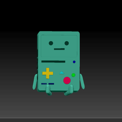 Download free STL files BMO Adventure Time, MatheusLira