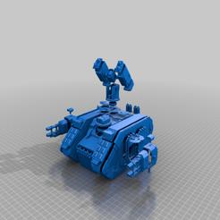 Descargar Modelos 3D para imprimir gratis S.P.R.U.E. Variante de Helios para el saqueador de tierra, Walkyrie222