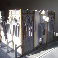 Download free 3D printer templates Eagle Shrine for Warhammer 40K, Walkyrie222