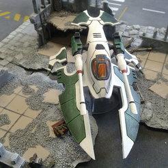 Descargar STL gratis S.P.R.U.E. Eldar Hornet, Walkyrie222