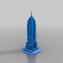 9b17aada7fee3261c048b7686a814137.png Download STL file Empire State Building with windows and hoke for light • Design to 3D print, gaaraa