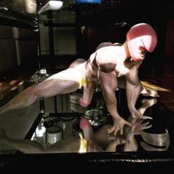 Impresiones 3D modelo negro albino por artevk instagram Joe Crain, gaaraa