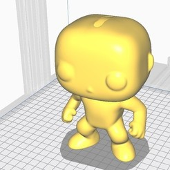 Download free STL file hollow funko pop, piggy bank, PIGGY BANK funkop • 3D printable object, gaaraa