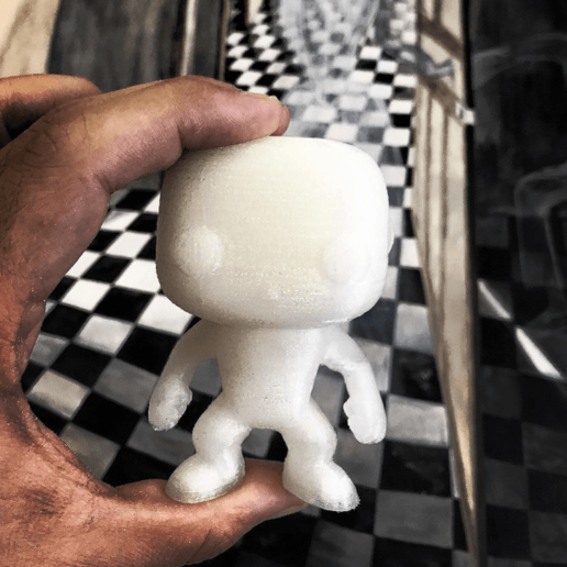 Download free STL file funko male with supports • Template to 3D print, gaaraa