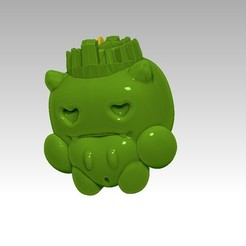 Download free STL file funko pop  hueco , hucha,  PIGGY BANK funkopop  • 3D printable template, gaaraa