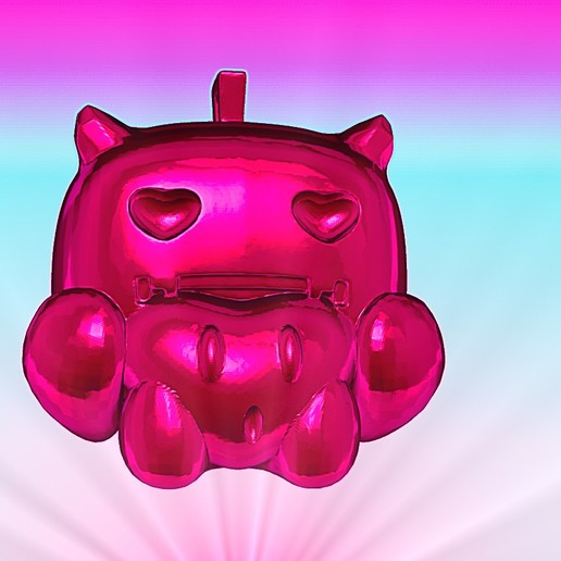 ZBrush Document.jpg Download free STL file devil baby FUNKO necklace and ring . funkos colgante bebe demonio y anillo a juego. #ANYCUBIC3D • 3D printing object, gaaraa