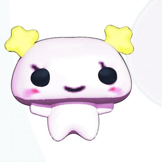 FURAWATCHI.jpg Télécharger fichier STL jouet furawatchi, tamgotchi. • Objet à imprimer en 3D, gaaraa
