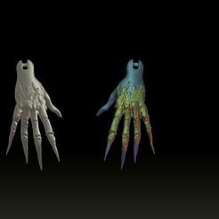 handsbruha.jpg Download STL file witch hands • 3D printer model, gaaraa