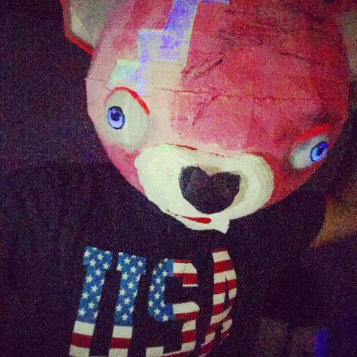 42174941_434696997055885_159934445353786841_n.jpg Download free STL file fortnite bear full head mask . mascara • 3D printer object, gaaraa