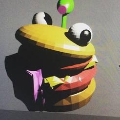 Download free STL file fortnite hamburguer . hamburguesa de fortnite. dont forget like and follow :) • 3D printer template, gaaraa