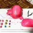 F71FA060-AADA-4E6E-8389-267FF9F23685.jpeg Télécharger fichier STL Mametchi, personnage politique du tamagotchi, animal de compagnie japonais. • Plan pour imprimante 3D, gaaraa