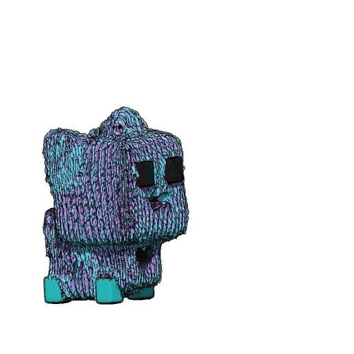f.jpg Download free STL file test print cube dog, test print cube dog • 3D printer object, gaaraa