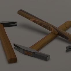 Imprimir en 3D gratis Hammer, furqan03