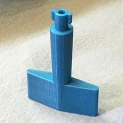 Descargar modelo 3D gratis Llave de cierre Kohler con montaje en la pared p/n GM82922, rssalerno