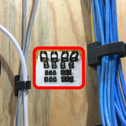 Download free SCAD file Easy Cable Management • 3D printable object, rssalerno