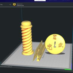 Tanto_katana_separada.png Download STL file Sword Both • 3D printer object, cheandrou