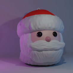 santa_esfera1.png Download STL file Christmas Spheres • Model to 3D print, cheandrou