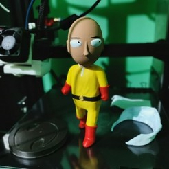 Download STL file Saitama Chibi One Punch Man • 3D print object, cheandrou