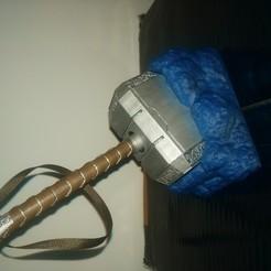 Télécharger objet 3D gratuit Base rocheuse de Mjolnir, Concept-D