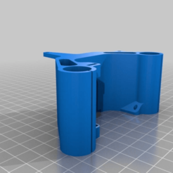 Télécharger fichier STL gratuit Anet E3D x-Carriage (modification, suppression du support de butée et renforcement des supports de ceinture) • Design pour imprimante 3D, Concept-D