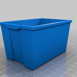 Download free STL Recycle Bin - Sweetener Holder, Concept-D