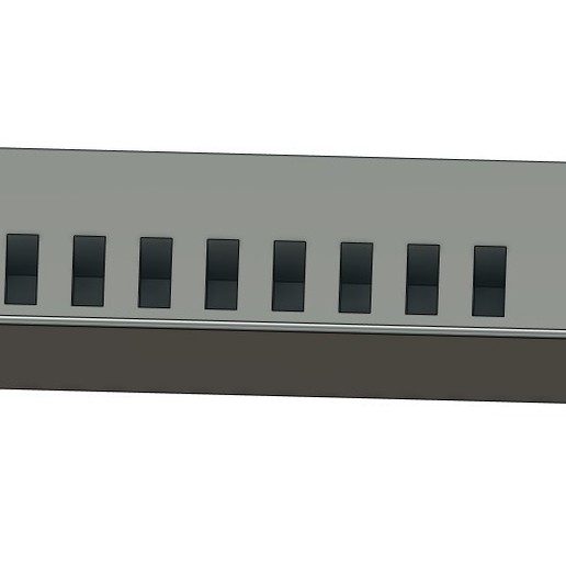 Download free OBJ file pendrive wall organizer • Template to 3D print, 3DCURICO