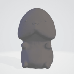 Download OBJ file kawaii penis • 3D print design, 3DCURICO